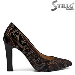 Pantofi dama din velur – 31163