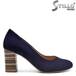 Pantofi dama velur natural - 31165