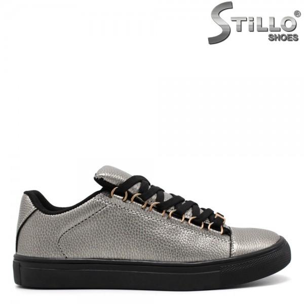 Pantofi dama tip sport argintii - 31199