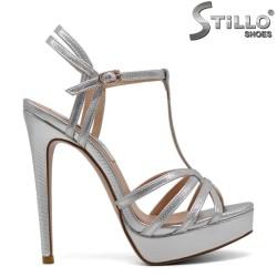 Sandale dama din piele ecologica  - 31203