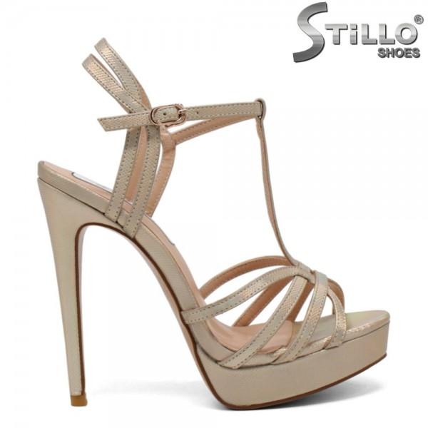 Sandale dama din piele ecologica - 31204