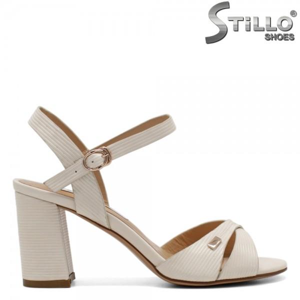 Sandale dama din piele ecologica - 31205