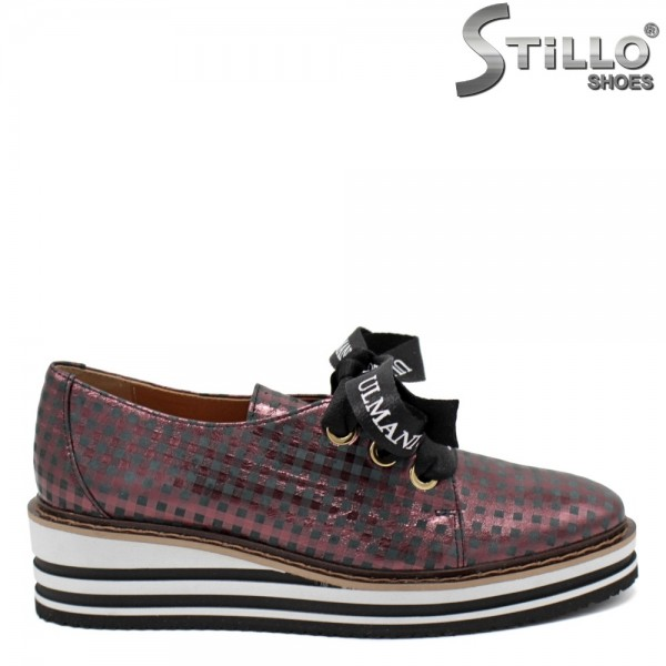 Pantofi dama din piele naturala - 31236