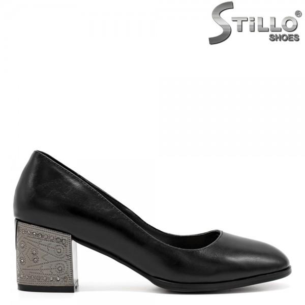 Pantofi dama cu toc metalic - 31244