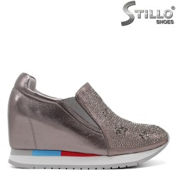 Pantofi dama tip sport piele naturala - 31245