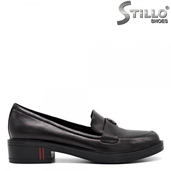 Pantofi inchisi din piele naturala - 31248