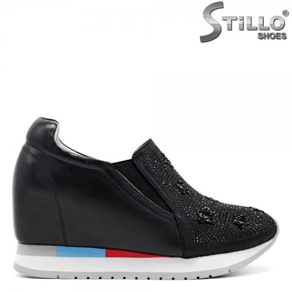 Pantofi tip sport piele naturala - 31262