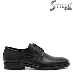 Pantofi de barbat din piele cu sireturi - 31288