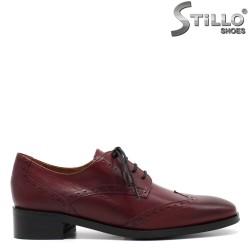 Pantofi dama din piele naturala - 31300