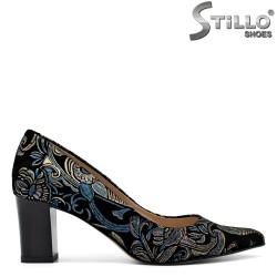 Pantofi dama cu motive florale 31364
