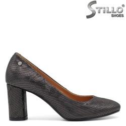 Pantofi dama argintii - 31367