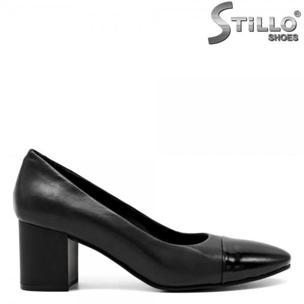 Pantofi piele cu toc - 31413
