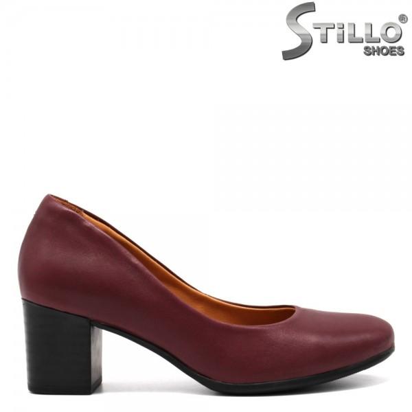Pantofi piele cu toc - 31417