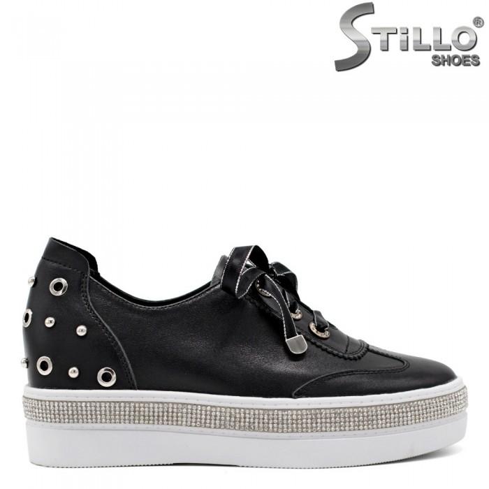 Pantofi tip sport cu capse - 31445