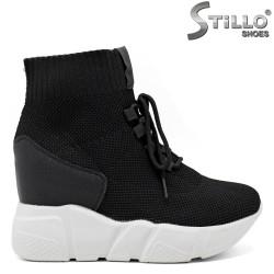 Pantofi tip sport pe platforma - 31466