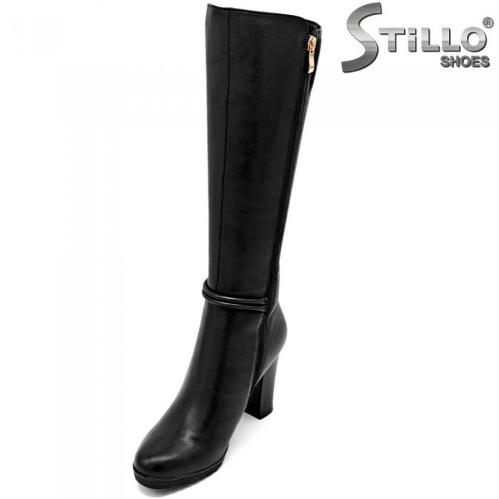 Cizme dama XSdin piele naturala pentru picior slab - 31813