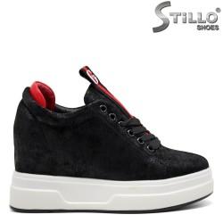 Pantofi sport dama din velur ecologic - 31961