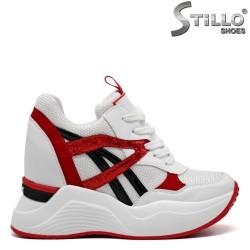 Pantofi dama din piele ecologica - 31989