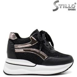Pantofi dama tip sport din piele ecologica - 31990