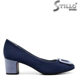 Pantofi dama din velur ecologic - 32033