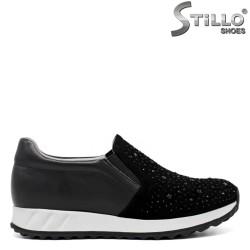 Pantofi dama tip sport din piele naturala- 32037