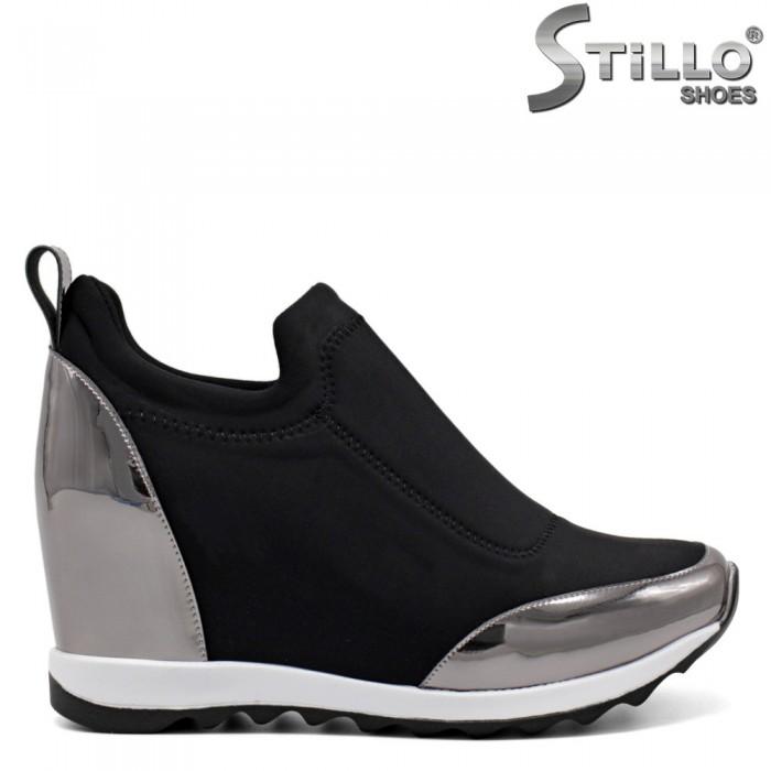 Pantofi dama tip sport din piele ecologica - 32045