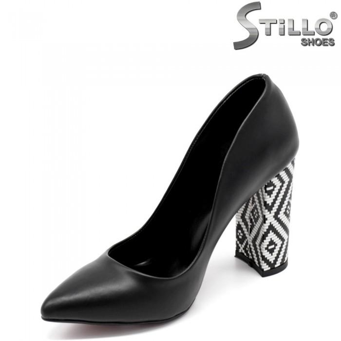 Pantofi dama din piele ecologica - 32048