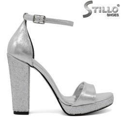 Sandale dama din piele ecologica - 32050
