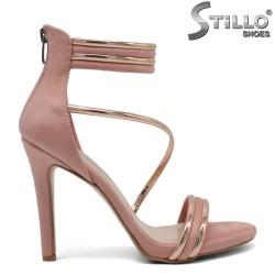 Sandale dama din piele ecologica - 32052