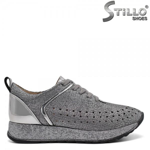 Pantofi dama tip sport din piele ecologica-32053