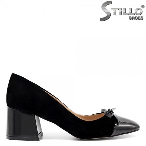 Pantofi dama din nubuc ecologic-32055