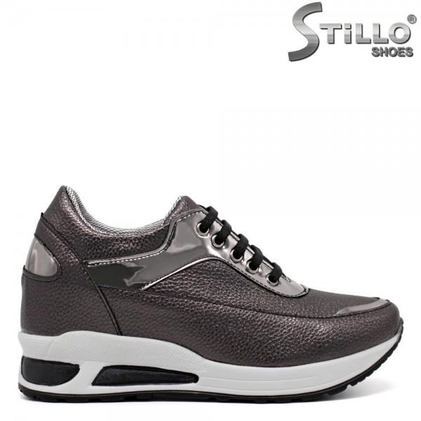 Pantofi dama tip sport din piele ecologica -32058