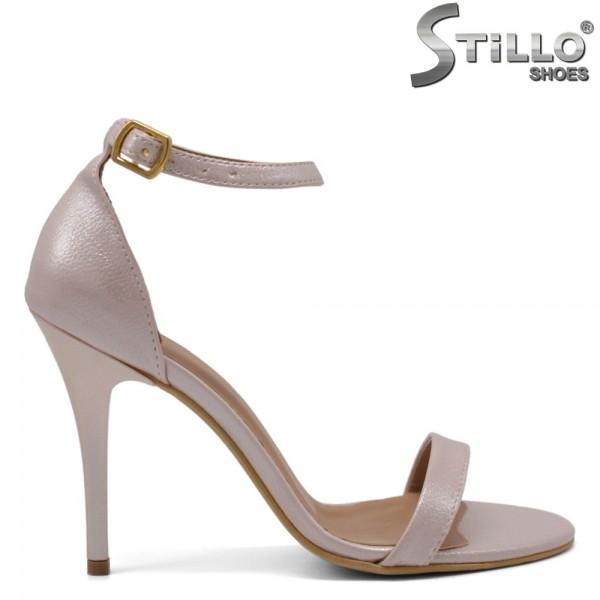 Sandale dama din piele ecologica - 32063