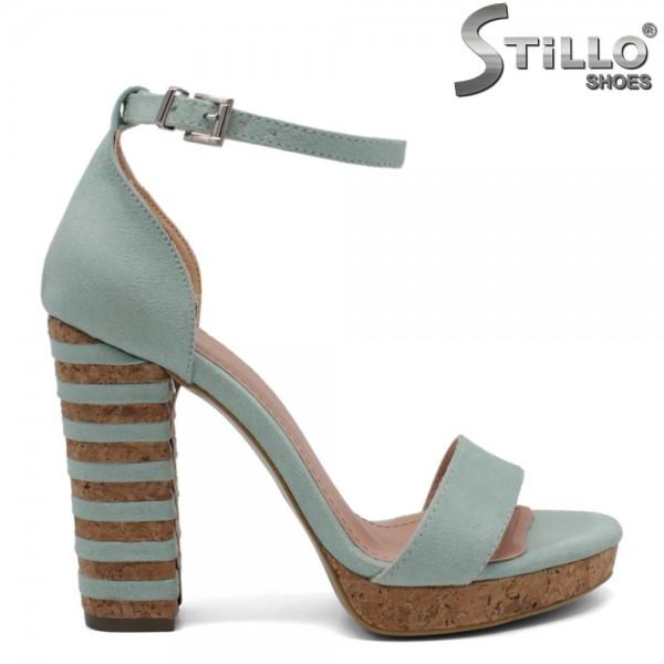 Sandale dama din velur ecologic - 32069