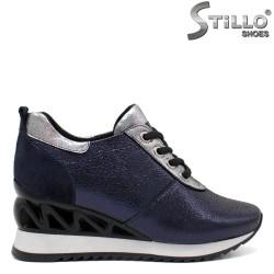 Pantofi dama tip sport din piele naturala - 32083