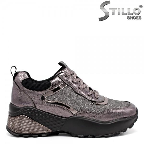 Pantofi dama tp sport din piele ecologica - 32084