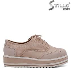Pantofi dama din piele ecologica - 32091