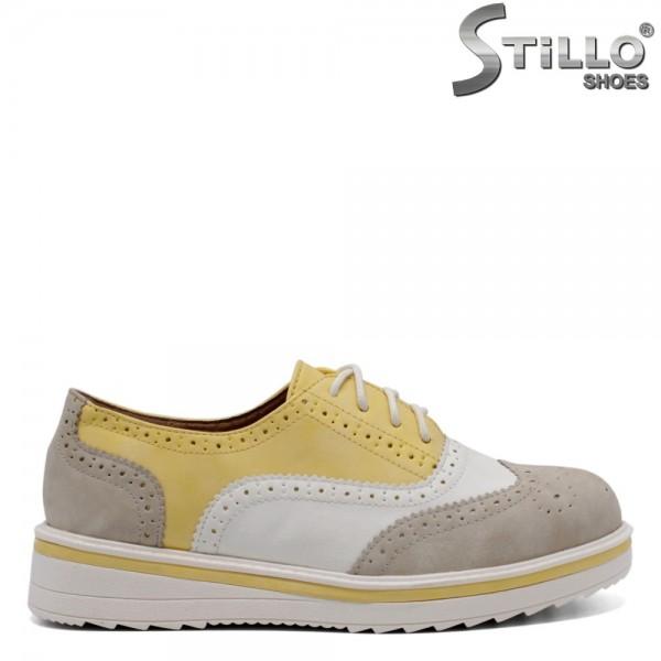 Pantofi dama din piele ecologica - 32092