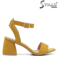 Sandale dama din piele ecologica - 32100