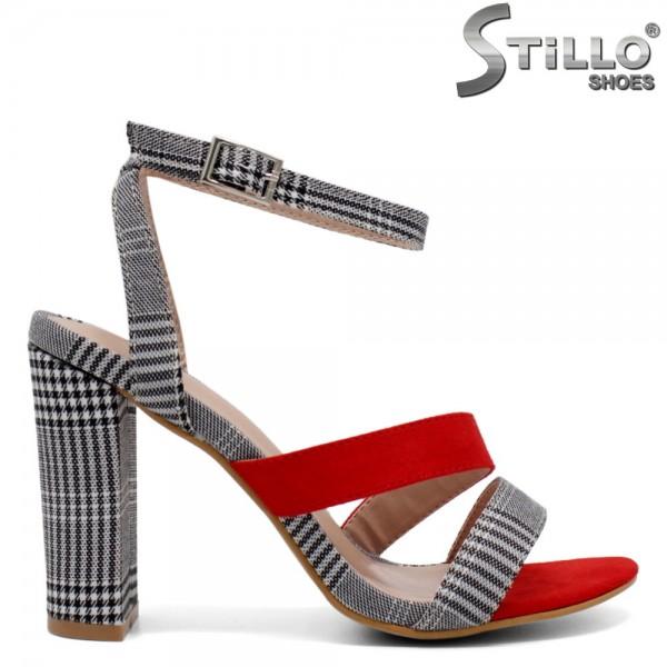 Sandale dama din velur ecologic- 32105