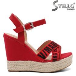 Sandale dama din piele ecologica - 32106
