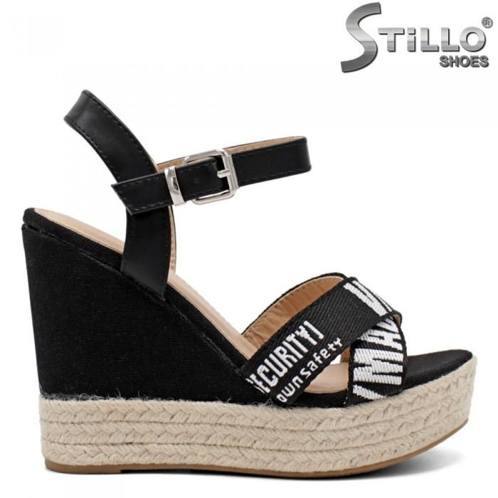 Sandale dama din piele ecologica  - 32107