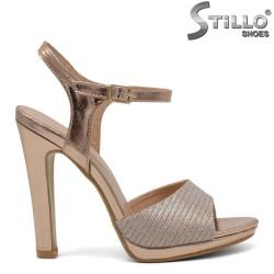 Sandale elegante din piele ecologica - 32108
