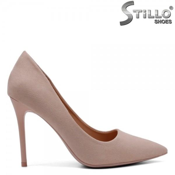 Pantofi dama din velur ecologic - 32112