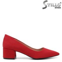 Pantofi dama din velur ecologic - 32124