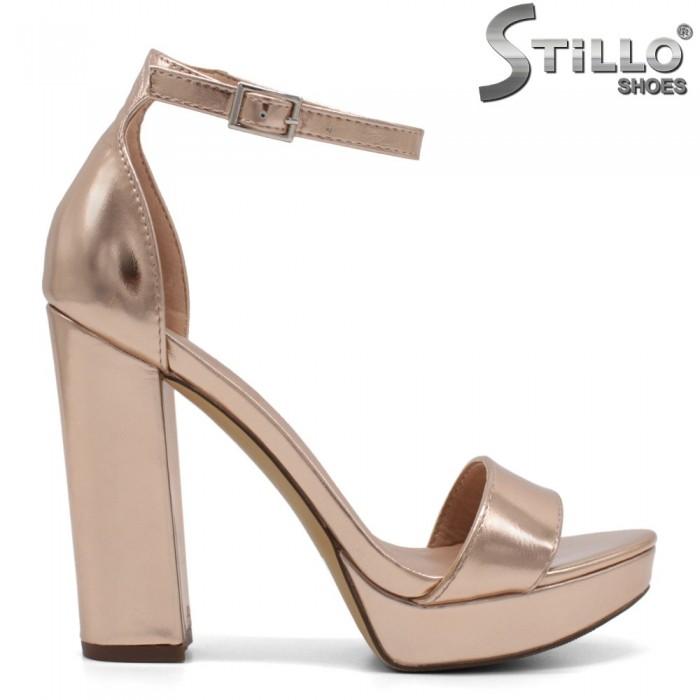 Sandale dama din piele ecologica - 32135