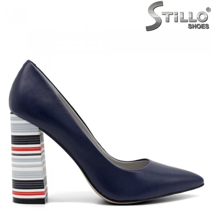 Pantofi dama  din piele naturala - 32142