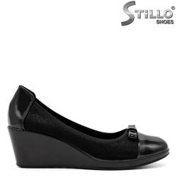 Pantofi dama din piele ecologica - 32150