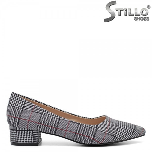 Pantofi dama din textil - 32151