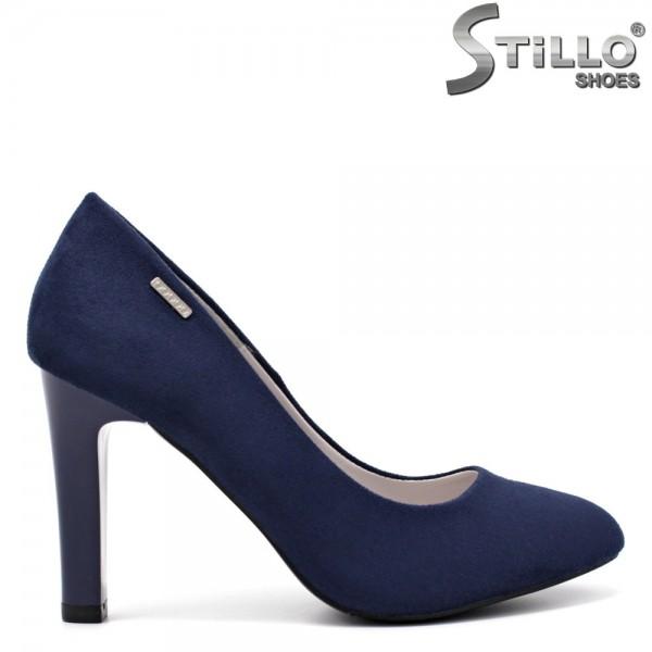 Pantofi dama din piele ecologica - 32155